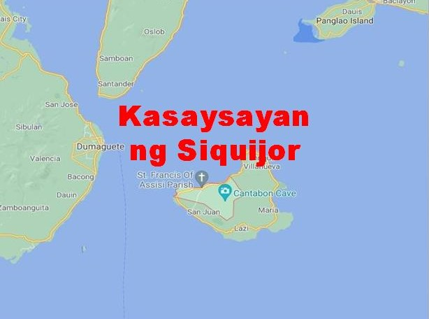 Siquijor Province History in Tagalog