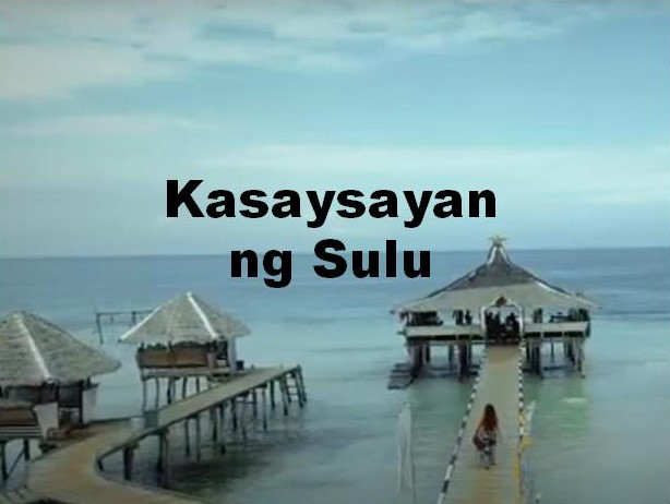 Sulu History in Tagalog