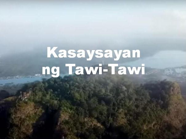 Tawi-Tawi History in Tagalog