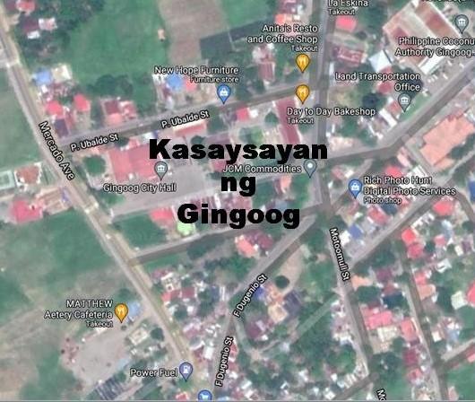 Gingoog City History in Tagalog