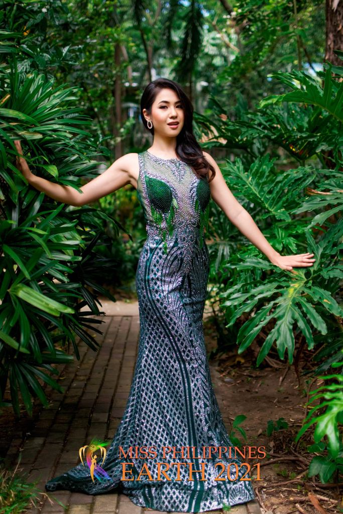 Jia Gold Bustamante Gown