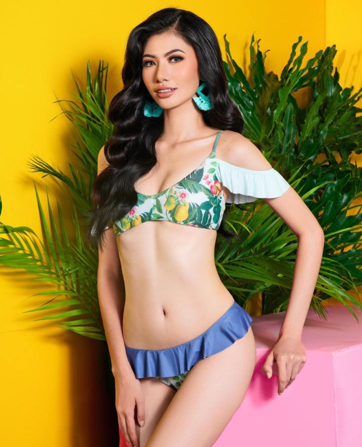Kim Babao in Swimsuit