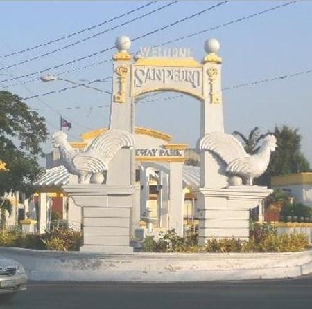 San Pedro City History in Tagalog