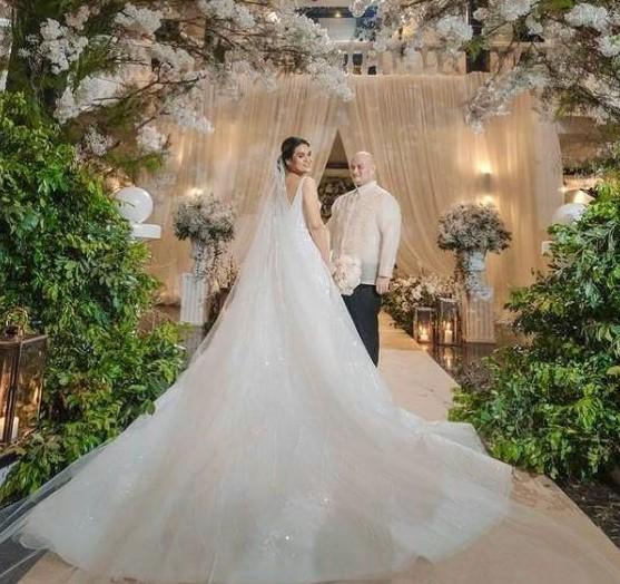 Tracker Lim and Congreswoman Claudine Bautista Wedding