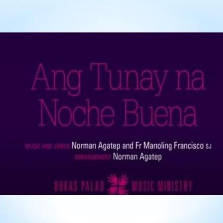 Ang Tunay Na Noche Buena Lyrics and Video