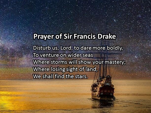 Prayer of Sir Francis Drake