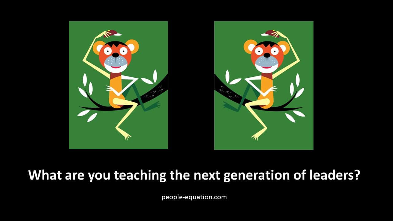 Monkey See Monkey Do The People Equation