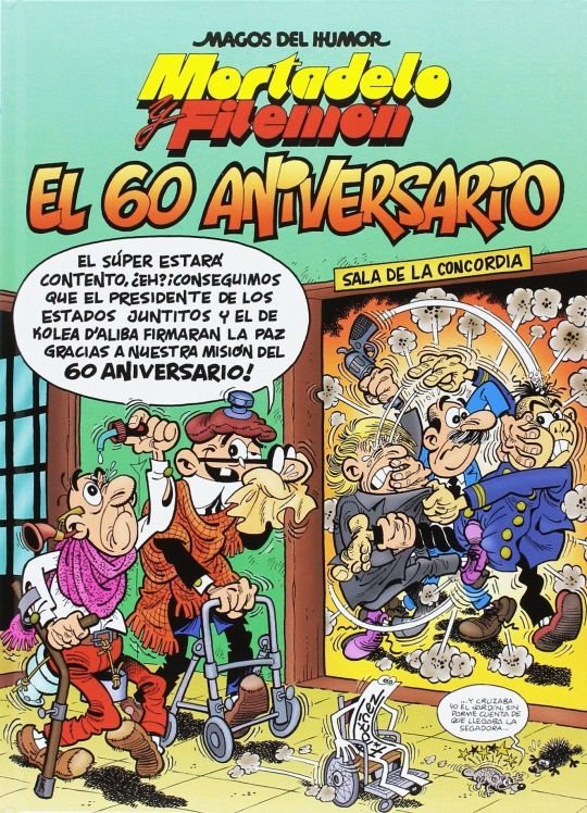 Portada '60 aniversario' Mortadelo