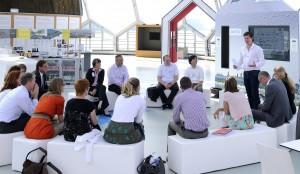 Bijeenkomst met facilitator Glenn van der Burg