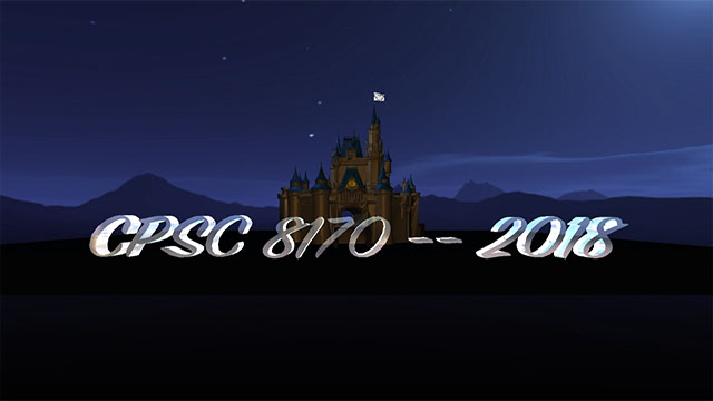 CPSC 8170: Physically Based Animation