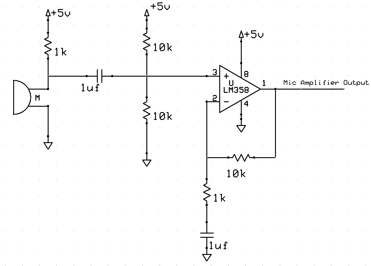 Microphone Preamplifier Circuit Images