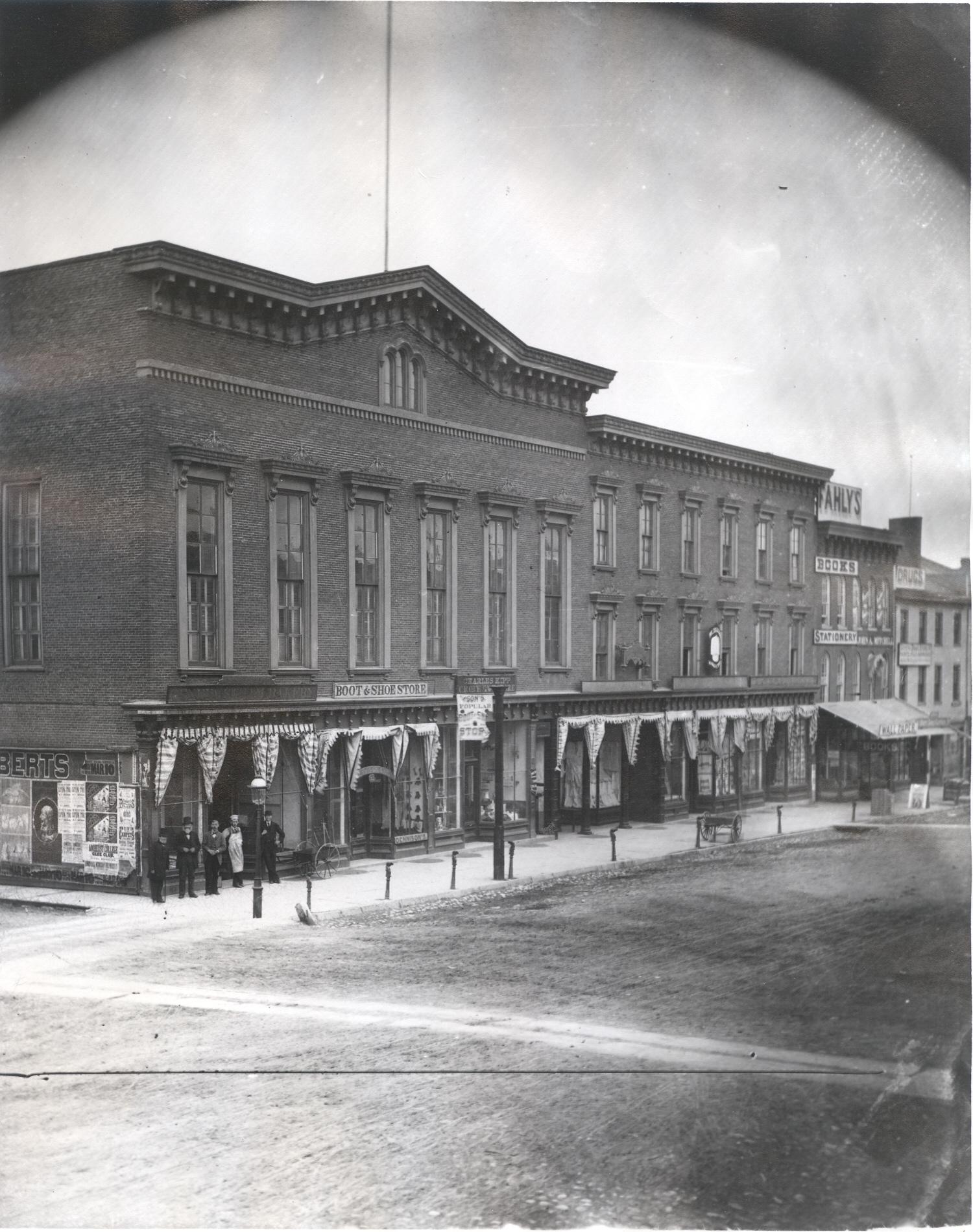 Linden Hall, c 1889-1892