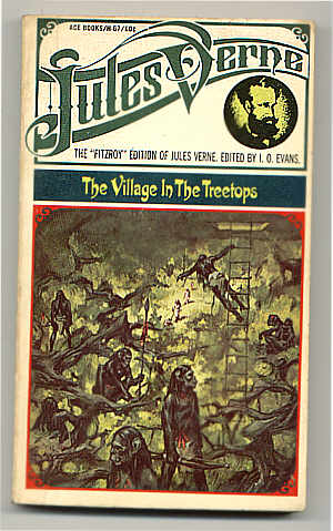 Vintage Cover Art: Fitzroy Edition of Jules Verne