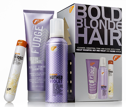 Blonde with Product