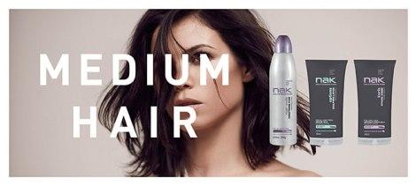 mediu hair