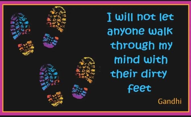 I Will Not Let Anyone Walk Through My Mind - People Development Magazine