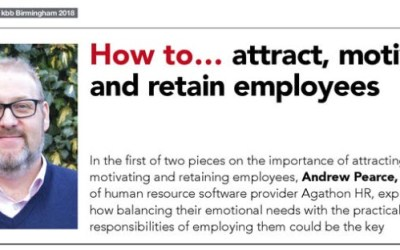 How to attract, motivate and retain employees