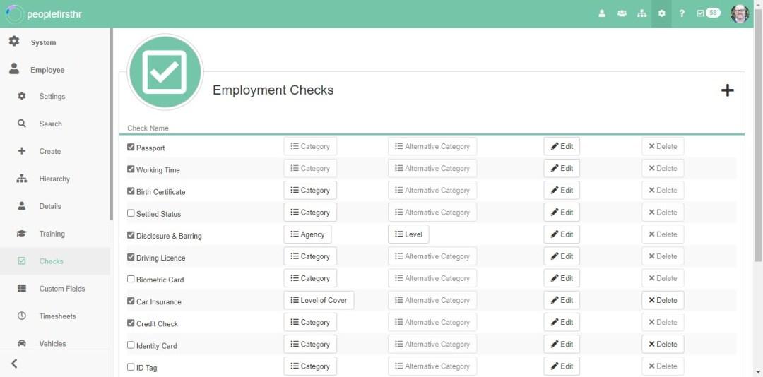Employment Checks