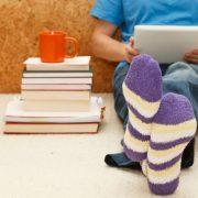 Κύστεις και φυσαλίδες από τις κάλτσες με λάστιχο
