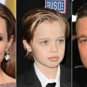Η Shiloh Jolie-Pitt, η πρώτη κόρη της Angelina Jolie και του Brad Pitt, με look a la garcon