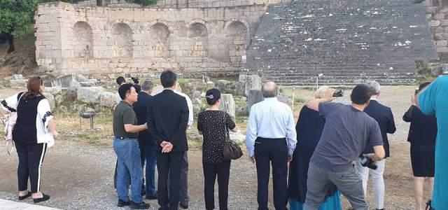 Κινέζοι γιατροί αναβίωσαν τον όρκο του Ιπποκράτη στο Ασκληπιείο της Κω