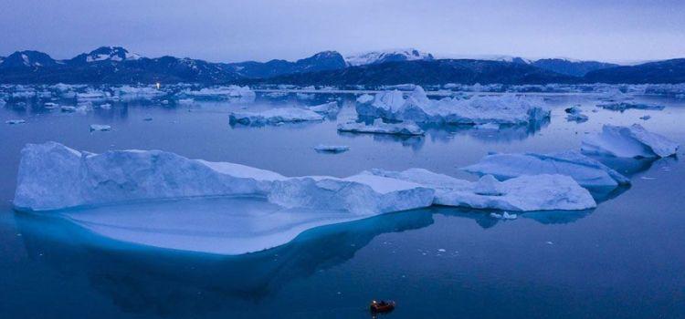 Το λιώσιμο των πάγων της Γροιλανδίας καθορίζει το μέλλον της Γης