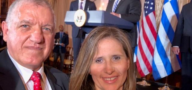 Ο Αντιπρόεδρος του Διεθνούς Κέντρου Ιατρικού Τουρισμού, Γυναικολόγος Κωνσταντίνος Πάντος παρέστη στην δεξίωση  προς τιμήν του Κυριάκου Μητσοτάκη που παρέθεσαν ο Αντιπρόεδρος των ΗΠΑ Μάικλ Πενς και ο Υπουργός Εξωτερικών Μάικ Πομπέο.