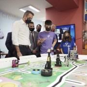 Το Εργαστήριο Πολυμέσων Xanthi TechLab επισκέφθηκε ο πρωθυπουργός