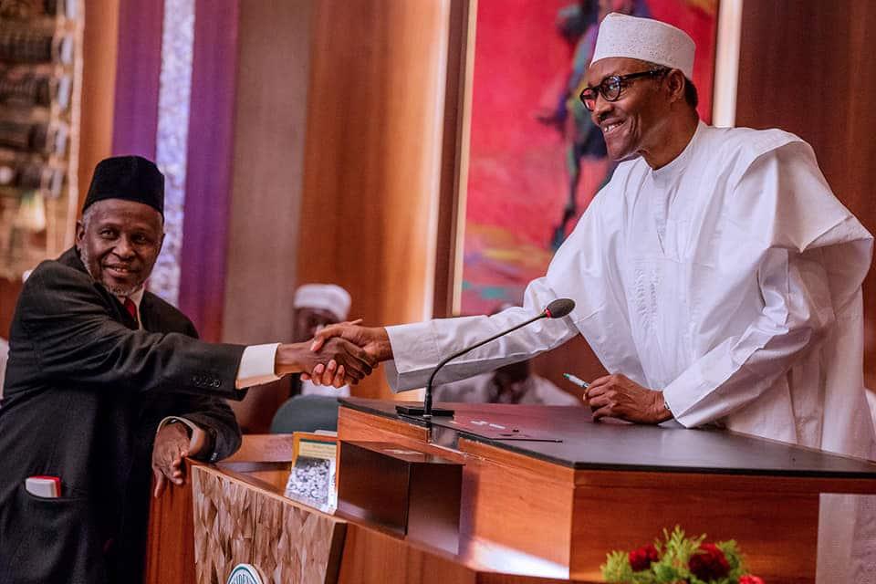 Buhari-seeks-Senate-confirmation-for-acting-CJN,-15-Special-Advisers