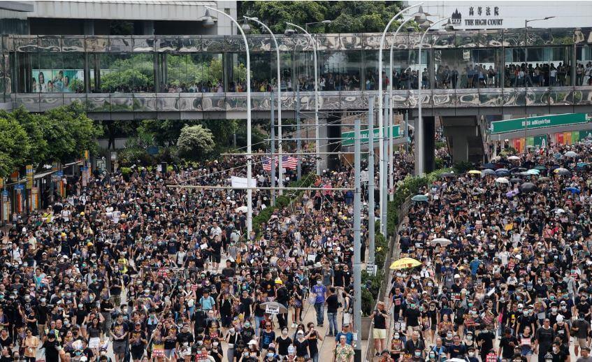 INCREASING-VIOLENCE:-Protest-rocks-Hong-Kong