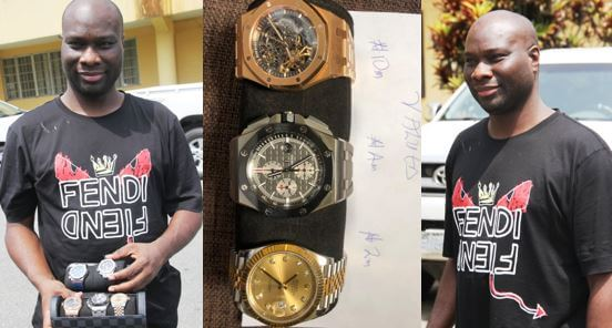 EFCC-recovers-N20m-wristwatches-from-Mompha