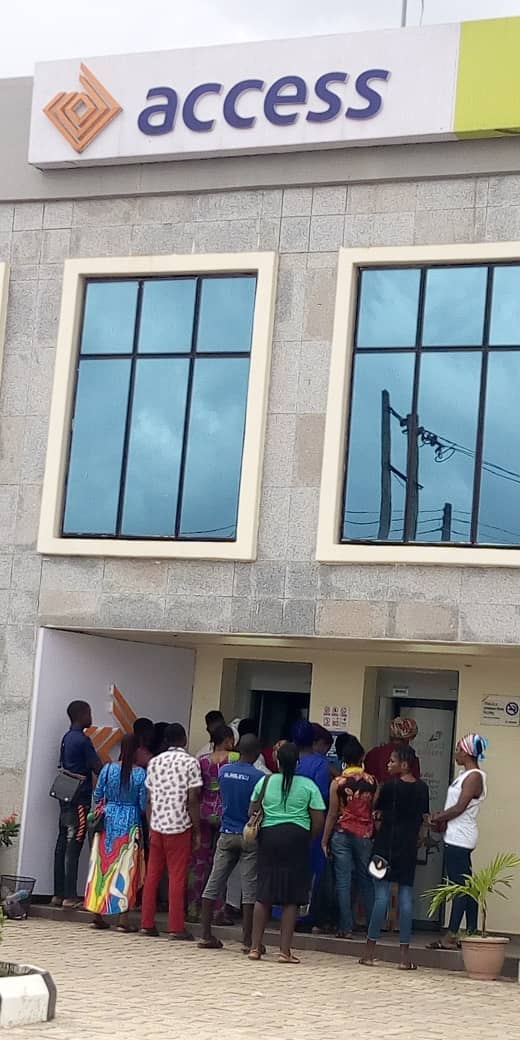 Access-Bank-Customers-lament-ill-treatment-in-Sango