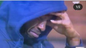 Saga crying at the disappearance of Nini