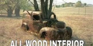 Craigslist all wood interior