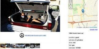 Craigslist guy in trunk