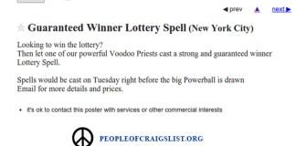 Craigslist Power Ball