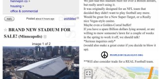 us bank stadium vikings for sale on craigslist