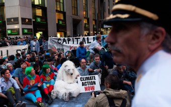 Flood Wall Street Dispersal/Arrests Unconstitutional