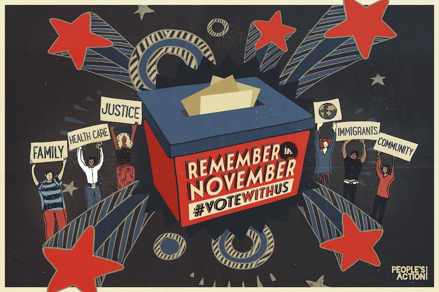 Remember in November Postcard (main)