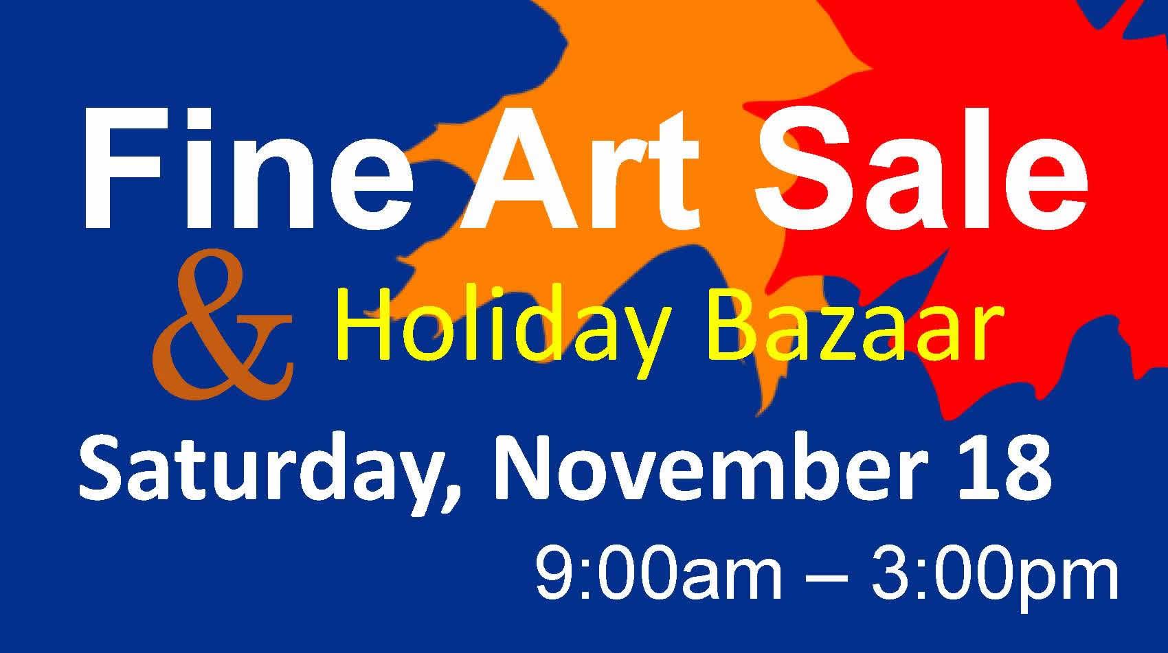 Fine Art Sale Holiday Bazaar Peoples Church Kalamazoo Mi