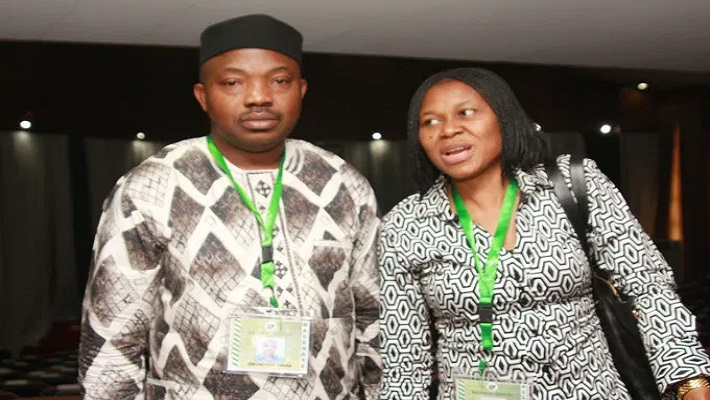 MR AND MRS ODUMAKIN