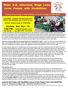GOODWILL 11-15-14 protest FLIER  revised 110814