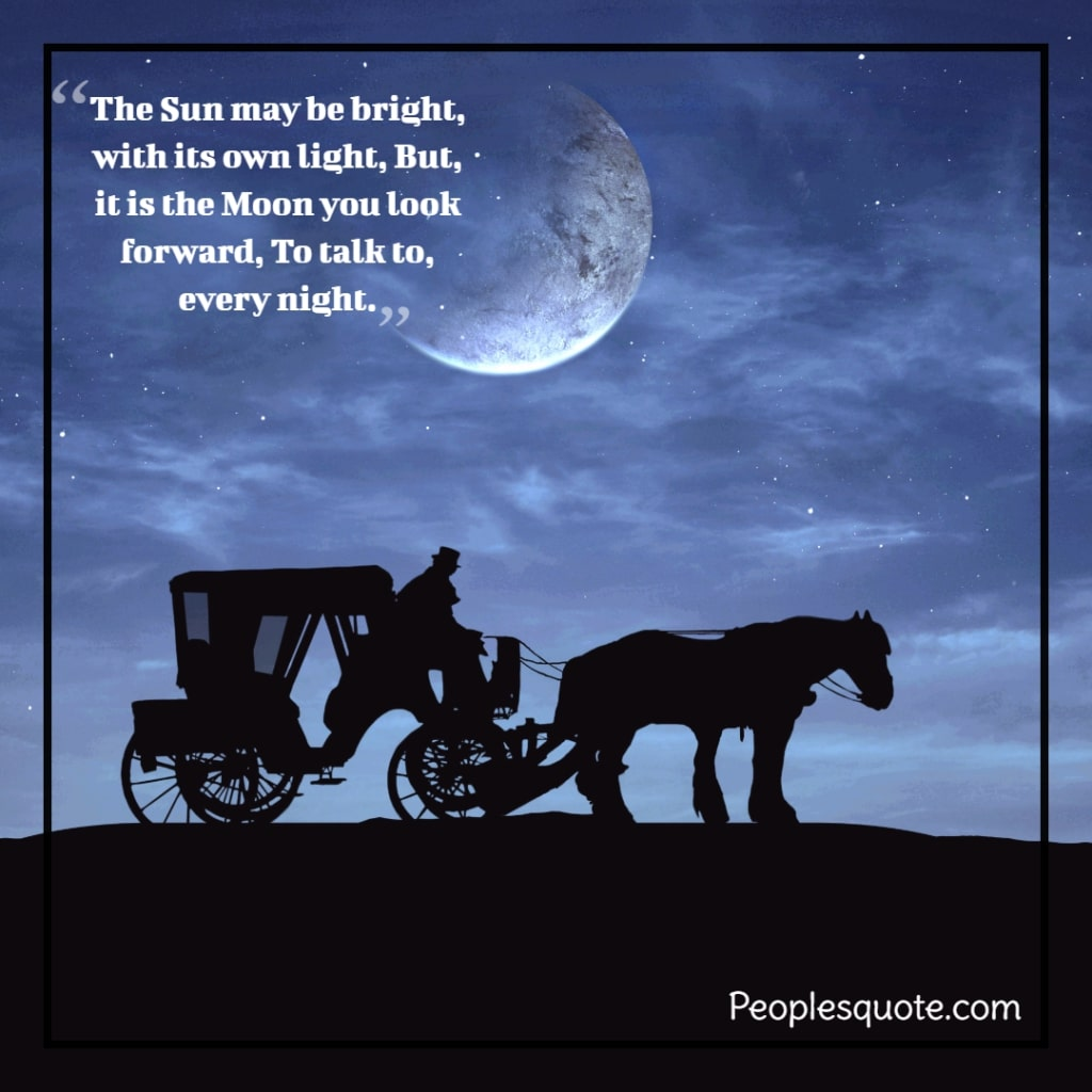 beauty of the evening nature quotes