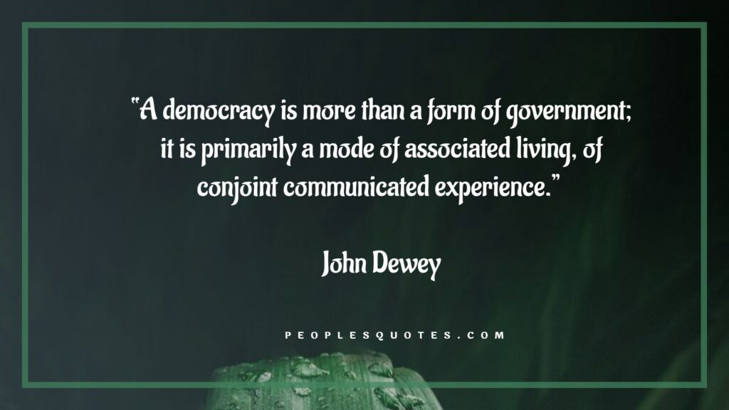 Democracy Slogans and Independence Quotes