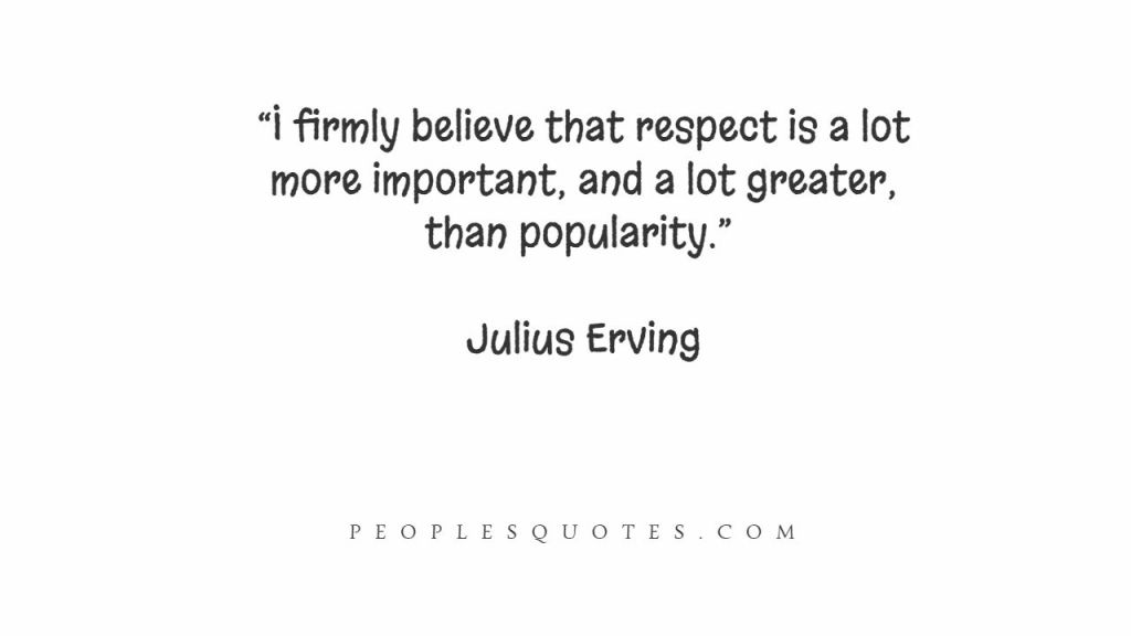 Quotes on Respect