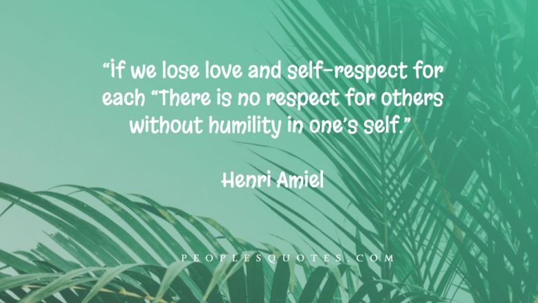 Self-Respect Quotes For Women