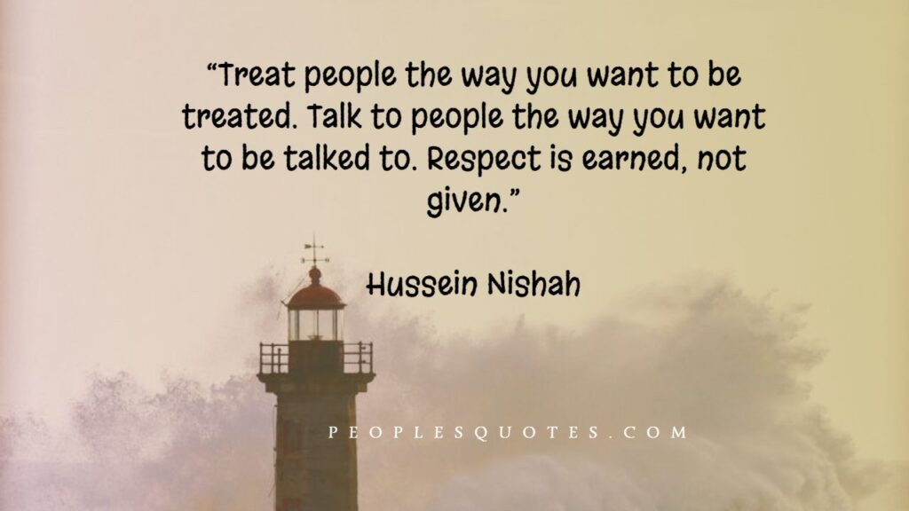 Respect and Self-Respect Quotes