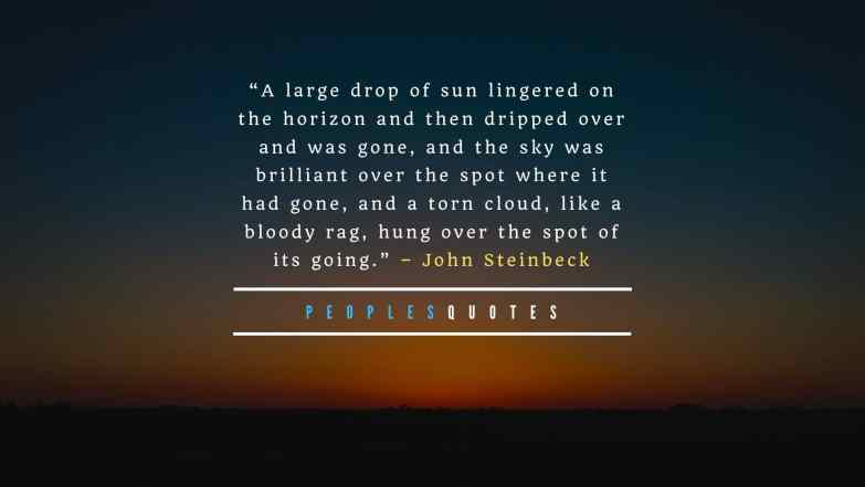 Beautiful Quotes About Sunsets