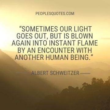 Albert Schweitzer life quotes