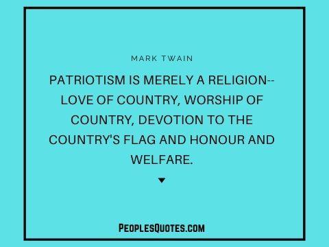best patriotism quotes